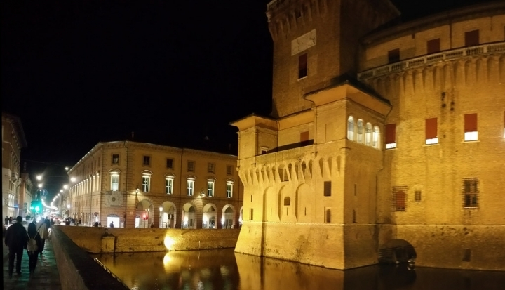 Esterno - Capodanno Castello Estense Ferrara